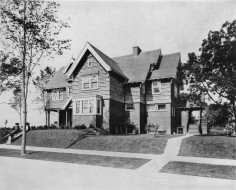 Buell Residence, 1905, from Inland Architect