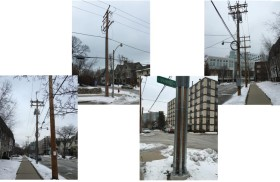 Example of New Utility Poles in the HWTN Area